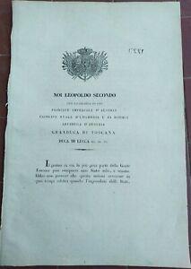 1847-DISCORSO-DEL-GRANDUCA-LEOPOLDO-AL-POPOLO-DI-LUCCA-DOPO-ABDICAZIONE-DEL-DUCA