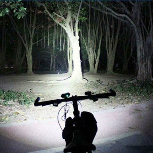 Outdoor 5V USB XM-L T6 X2 LED 4-Mode Bicycle Head Light Cycling Front Lamp