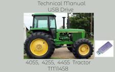 John Deere 4055 4255 4455 Tractor Service Repair Technical Manual Tm1458 On Usb