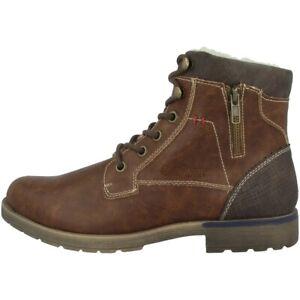 Details zu s.Oliver 5 16236 33 Schuhe Men Herren Boots Stiefeletten cognac 5 16236 33 305