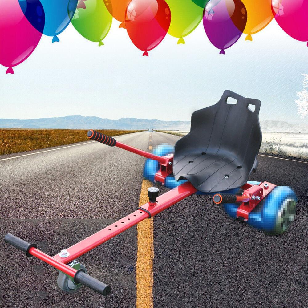 Go Kart Car Seat Holder for Balance eletric Scooter Self Balancing Board Red UK
