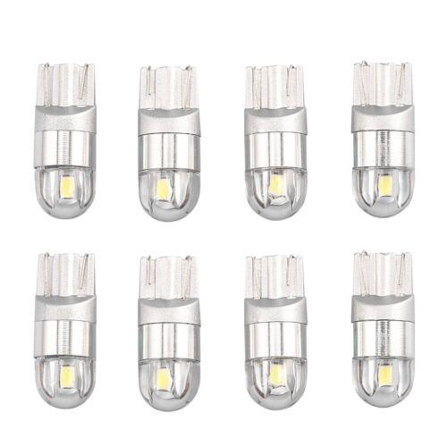 4Pcs 12V DC White T10 OSRAM 3030 2SMD W5W 192 168 Led Interior Light Bulbs  R
