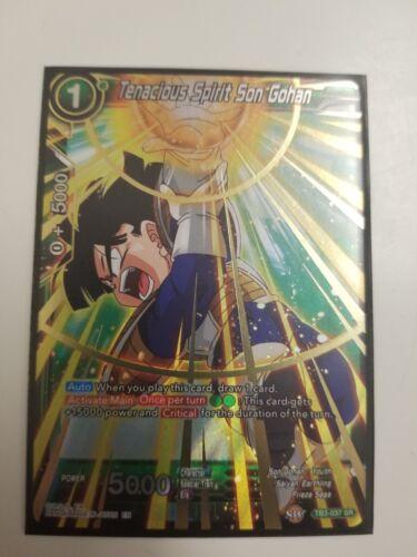 Tenacious Spirit Son Gohan TB3-037 SRFOIL Dragon Ball Super Clash of Fates