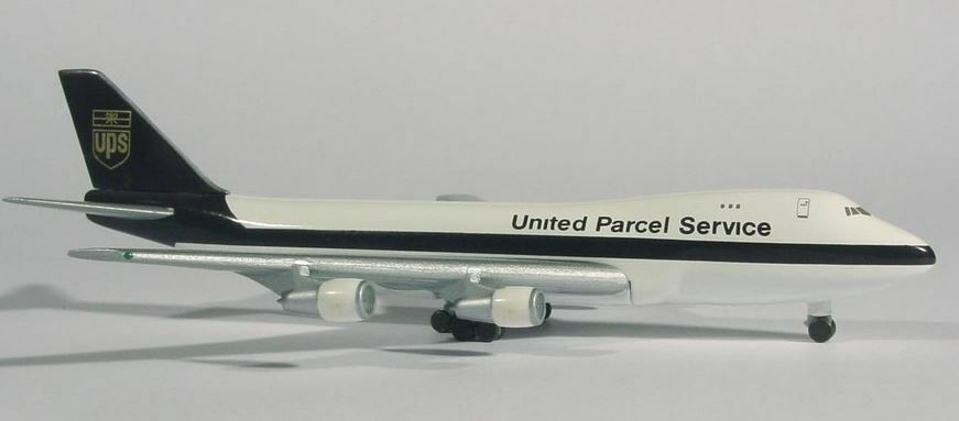 Herpa 502467 UPS United Parcel Service Service Service Boeing 747-200F 1 500 Scale Limited Ed 39eb01