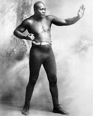 Heavyweight Champion Boxer JOHN 'JACK' JOHNSON Vintage 8x10 Photo Boxing Print
