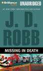Missing in Death by J D Robb (CD-Audio, 2010)