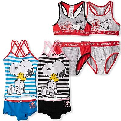Disney Minnie Mouse Girls Underwear Sets 2-Pack Vests Boxers Knickers 4-12 yrs