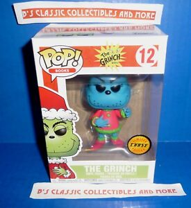 046ec420a50 Details about The Grinch Chase Blue POP Vinyl Figure  12 Funko Dr. Seuss New