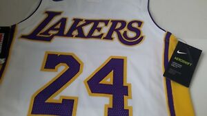 144222d52 Nike Kobe Bryant Los Angeles Lakers NBA Authentic Jersey Mens Size ...
