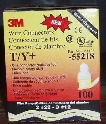 3M 051128 T//Y WIRE CONNECTORS BOX OF 100