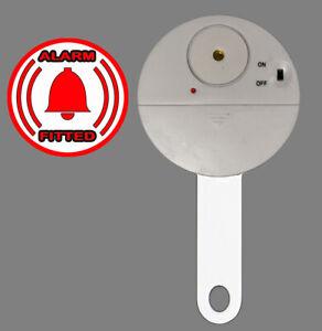 Patio French Door Lock ALARMED /'Curved Deluxe/' High Security Deadlock  ALARM PEG