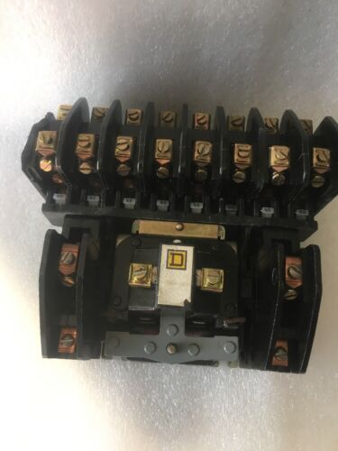 C w//Coil 9998LH44 8903LO1200 Ser Square D Lighting Contactor USED WARRANTY