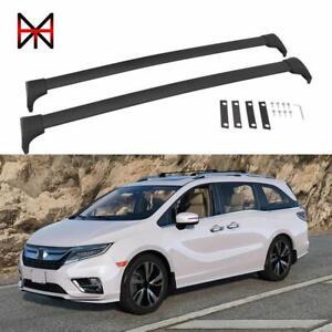 2 Pieces Black Cross Bars Fit For Honda Odyssey 2018 2020 Crossbars Roof Racks Ebay