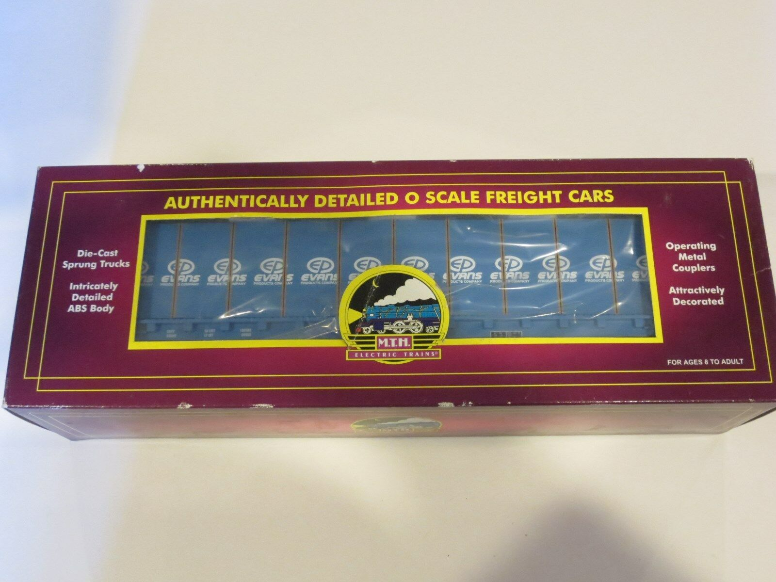 East Trains Electric MTH Coast Florida A Lumber with Car