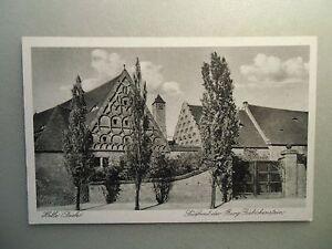Ansichtskarte-Halle-Saale-Suedfront-der-Burg-Giebichenstein
