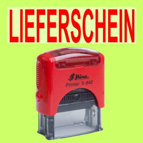 LIEFERSCHEIN Shiny Printer Rot S-842 Büro Stempel Kissen Rot