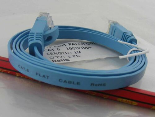 Cat6 3ft Patch Cord Cable 1M 1000mhz Ethernet Internet Network LAN RJ45 UTP