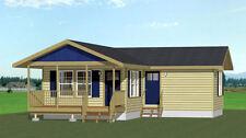 16x30 Tiny House -- 705 sq ft -- PDF Floor Plan -- Model 3G