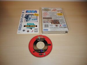NHL-All-Star-Hockey-Complete-Sega-Saturn-Game-CIB