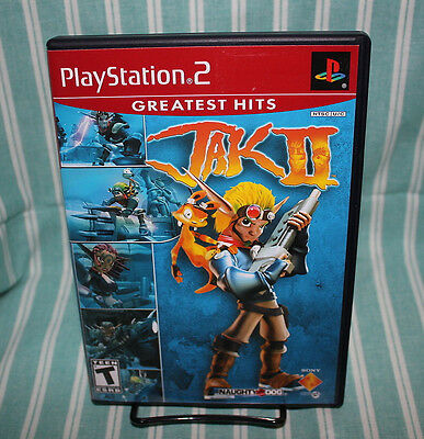 Jak II PS2 COMPLETE CIB Naughty Dog Sony Playstation 2 Free Shipping