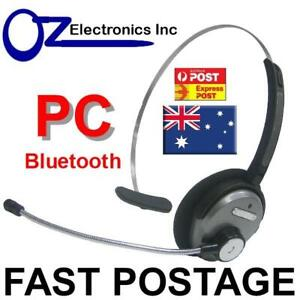Bluetooth Headset Handsfree For Use With Skype Ms Teams Webex Zoom Australia Pc Ebay
