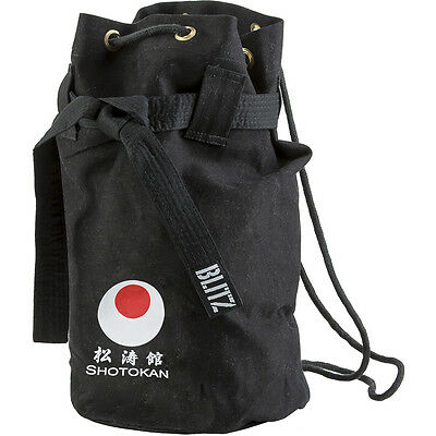 Blitz Shotokan Karate Discipline Duffle Bag - Black Karate Holdall