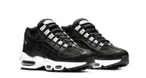buy online 562de 58585 Image is loading New-Nike-Air-Max-95-Black-Reflective-Silver-