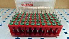 50 Kyocera Tycom Pcb Cnc Carbide Drill Bits 00160 Inch 040mm