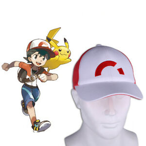 36c0475ad6179 2018 Pokemon Let s Go Hat Pokemon Ash Ketchum Embroidered Baseball ...