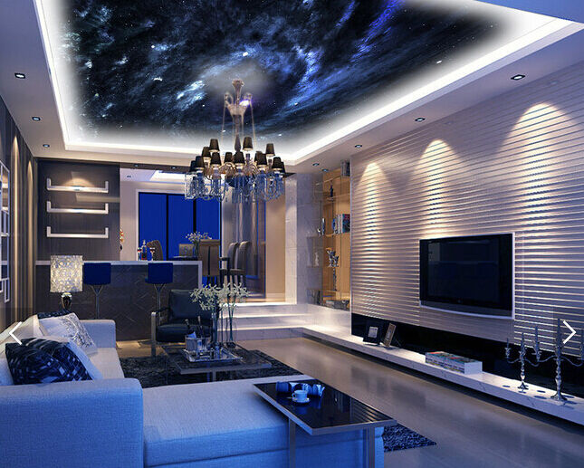 3D Vortex Stars 5 Ceiling WallPaper Murals Wall Print Decal Deco AJ WALLPAPER UK