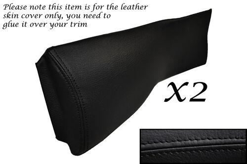 NERO CUCITURE accoppiamenti Triumph Spitfire /& GT6 2x LEATHER Knee Pads Leather copre