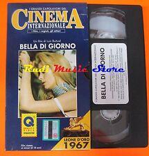 film VHS BELLA DI GIORNO Luis Bunuel 1990 DE AGOSTINI CARTONATA (F27*)  no dvd