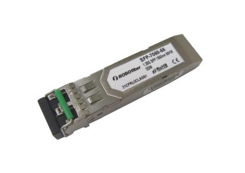 SFP module transceiver Gigabit SMF 1000Base ZX 1550nm 50Km singlemode Cisco comp