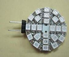 4pc G4-24smd 3528 White LED RV Marine Cabinet Lamp Light Car bulb fast US ship