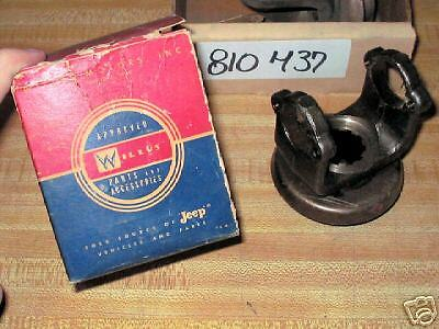 Willys Motors Transfer Case Yoke # 810437 New in Box