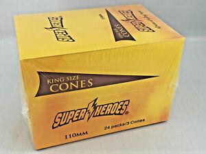 Super-Heroes-Cones-24-x-3er-Paket-Dreher-Blaettchen-Tips
