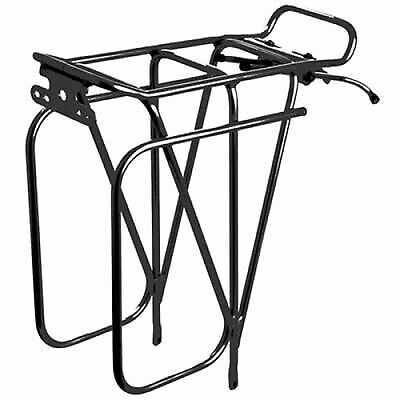 Silver Tortec Expedition Rear Road Bike//Cycle//Cycling Pannier Bag Rack