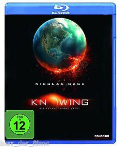 KNOWING-Nicolas-Cage-Rose-Byrne-Blu-ray-Disc-NEU-OVP