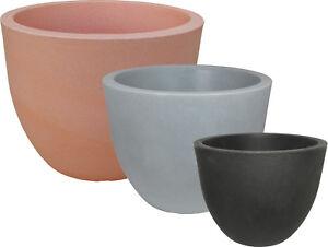 kunststoff blumenk bel pflanzk bel padua frostsicher 30 60 cm ebay. Black Bedroom Furniture Sets. Home Design Ideas