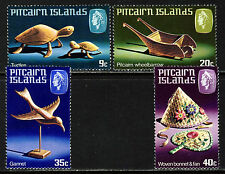 Islas Pitcairn 1980 el conjunto completo de manualidades SG 207 a SG 210 estampillada sin montar o nunca montada