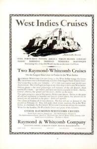 Advertising-West-Indies-Cruises-Raymond-amp-Whitcomb-Cuba-Puerto-Rico-Nassau-1926