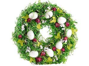 Couronne-de-Paques-decorative-avec-oeufs-et-fruits-rouges-34cm-Britesta