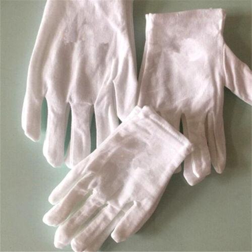 3Pairs White Girls Boys Performance Gloves Party Kids Gloves Mitten