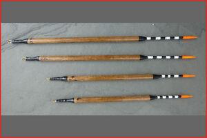 Semi loaded insert waggler Darts 1/2/3/4 x No1. Handmade fishing floats (BLDart)