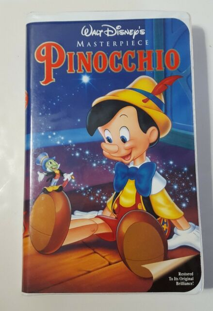 Walt Disney's Masterpiece Pinocchio (VHS, 1993) | eBay