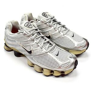 Details about Nike Shox TL IV Total TL4 Men's Sneakers Metallic Silver Black 2006 10 AUTHENTIC