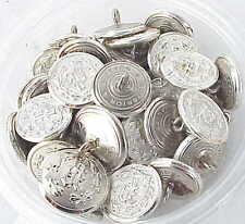 20 Vintage? Military Uniform? Buttons w Fancy P. MINT