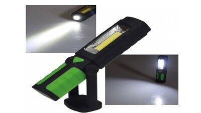 """440Lumen LED Arbeitsleuchte /""""CAL-COB Flex/"""" 6W mit Haken und Magnetfuß"""