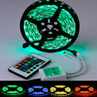 5M SMD 5050 LED Strips Lights 300 Leds RGB Flexible+Free 24 IR Remote Controller
