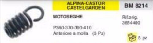 3654400 ANTIVIBRANTE MOTOSEGA ALPINA CASTOR CASTELGARDEN A MOLLA P370 P390 P410